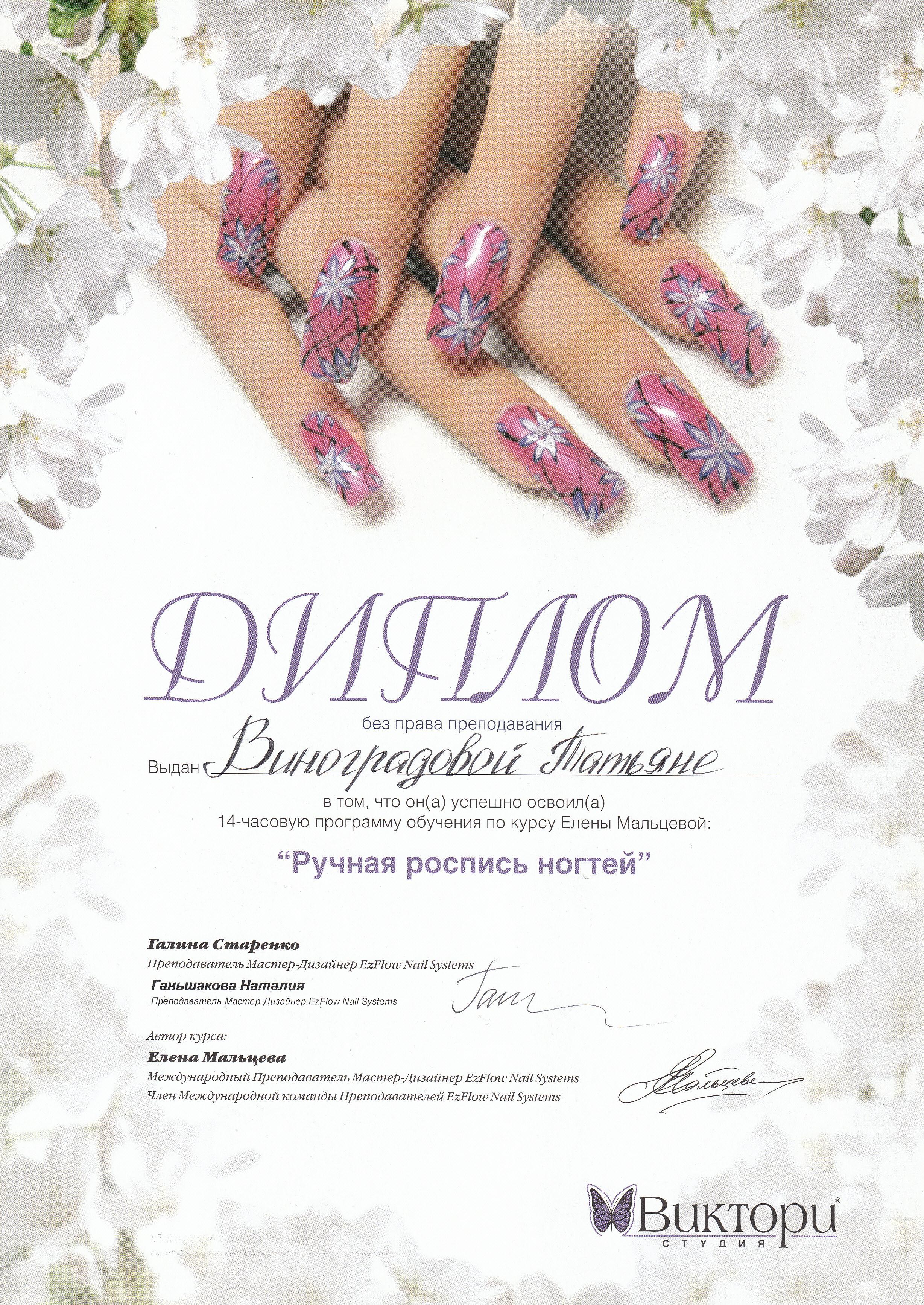 Курсы по наращиванию ногтей в твери цены